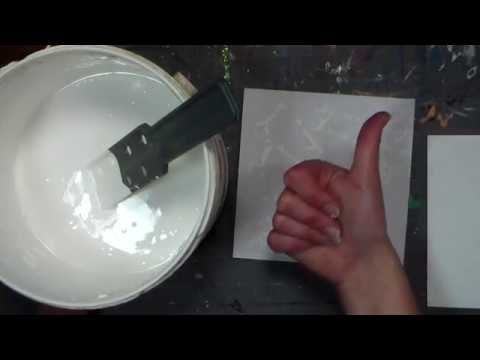 How to Thicken Cheap Economy Gesso