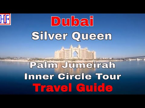 Dubai | Palm Jumeirah Inner Circle Tour by Boat (Silver Queen) | Travel Guide | Episode# 12