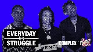 YBN Nahmir, Cordae & Almighty Jay on Brotherhood vs. Business, Gaming, Rap Beef | Everyday Struggle