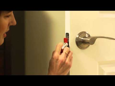 How to Fix A Door That Won't Latch | Home Hack