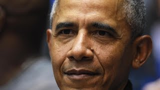 Former U.S. President Barack Obama Takes In UNC vs. Duke