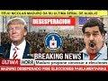El Ultimo Grito De Auxilio De Nicolas Maduro