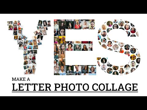 Make a Letter Photo Collage in 60 Seconds | FigrCollage