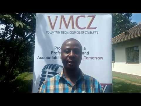 VMCZ Board Member Tawanda Majoni on media self regulation
