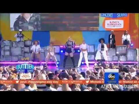 Iggy Azalea - Fancy (Live at GMA Summer Concert Series)