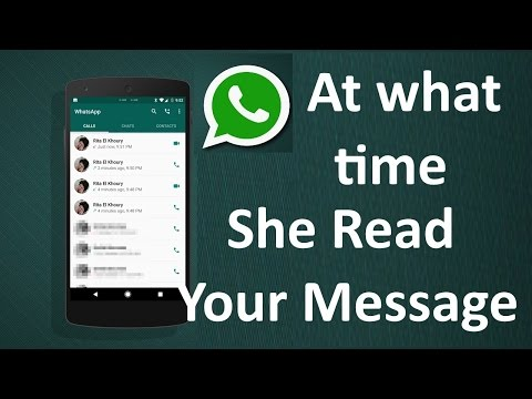 Know when exactly your Whatsapp message was read