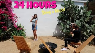 24 HOURS Living As A Model in LA! Emma Marie and Ellie