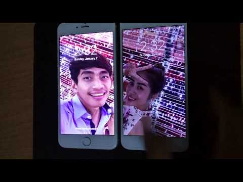 How to set up couple Wallpaper IOS&Android