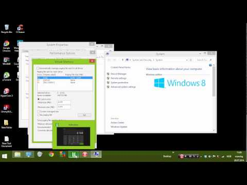 How to get more ram on windows 8/7/xp/vista! FREE! & WORKING! 2014