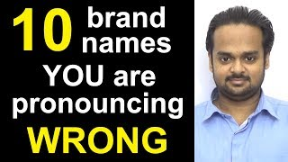 10 Brand Names You are Pronouncing WRONG! - Nike, Amazon, McDonald's, Mercedes-Benz, Disney, etc.