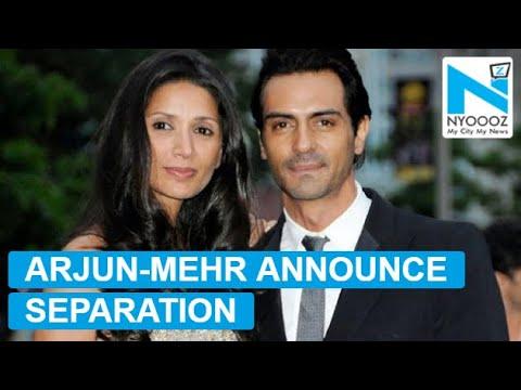 Arjun Rampal-Mehr Jesia CONFIRM separation