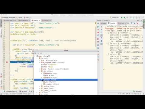 Using MongoDB with Node.js | Debugging Models