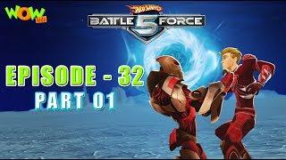 Motu Patlu presents Hot Wheels Battle Force 5 - The Crimson One - S2 E32.P1 - in Hindi