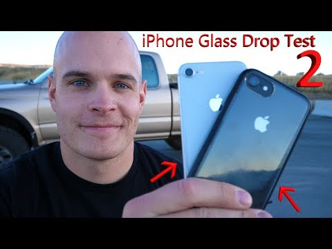 iPhone 8 DROP TEST! -- Don't drop your new iPhone... ever.
