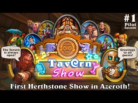 TAVERN SHOW. First Hearthstone Show in Azeroth! (Popular REDDIT Topics  and TWITCH Clips) #1January