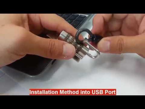 Pin number setting and Laptop USB locking