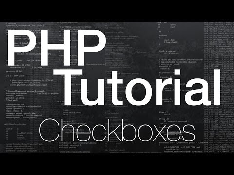 Checkboxes in PHP