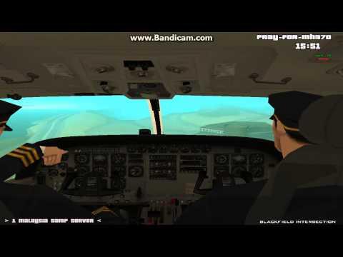 Gta Sa Cessna Plane landing failure at SF Airport