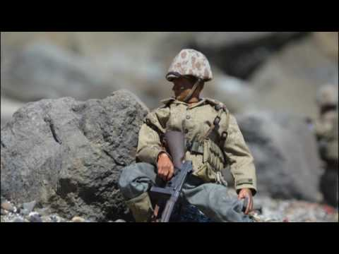 THE PACIFIC BATTLE OF IWO JIMA WW2 IN ACTION FIGURES