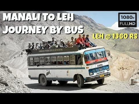 Delhi Leh Bus | Delhi Leh Bus Booking | Delhi to Leh Ladakh by Bus | Manali Leh Bus Service