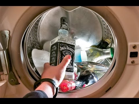 Experiment - GLASS - in a Washing Machine - Centrifuge