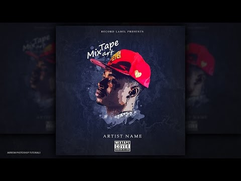 Mixtape Cover Art Design -  Photoshop CC Tutorial