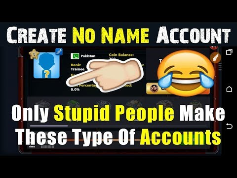 How To Create Miniclip 8 Ball Pool Account Without Name 😂  2018