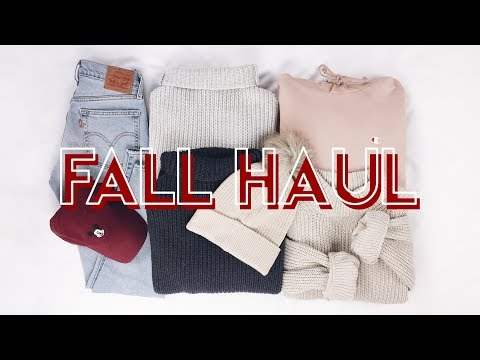 Fall Haul (Try On!) Sweaters, Hats & Jeans!
