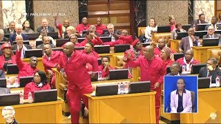 "Julius Malema ""I Want To Vote Zuma Out"""