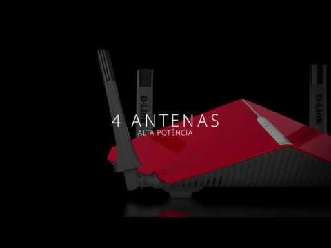 Router D-Link DIR-885L Ultra Wi-Fi, Wave 2 e MU-MIMO (compatível com mydlink™)