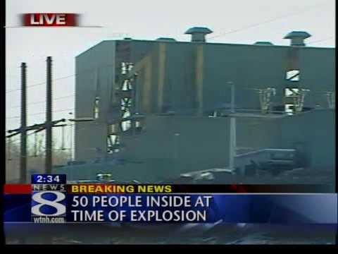 middletown explosion power plant // Explosion centrale Connecticut