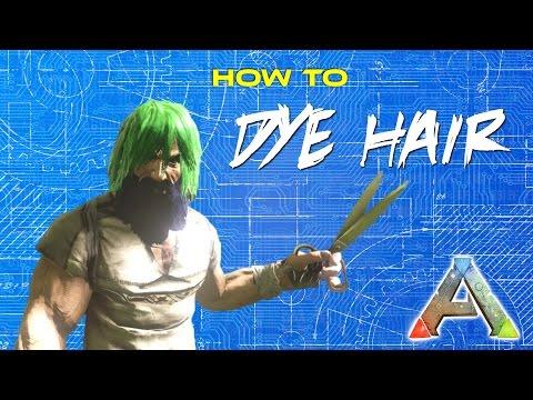 How To Dye Hair in Ark Hair Dye Tutorial | ARK Survival Evolved