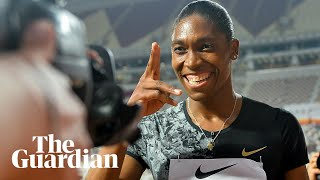 Caster Semenya defiant after 800m win: 'Actions speak louder than words'