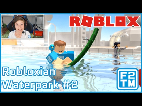 LIFEGUARD ATTACKS ROBLOXIAN'S WITH POOL NOODLE!!! - Roblox Robloxian Waterpark #2