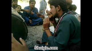 Balochi dhol lara at chota kashmir Nushki with sanul baloch
