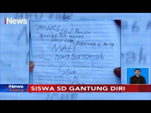 Xxx Mp4 Tinggalkan Surat Wasiat Siswa Kelas 5 SD Di Temanggung Tewas Gantung Diri INews Siang 08 10 3gp Sex