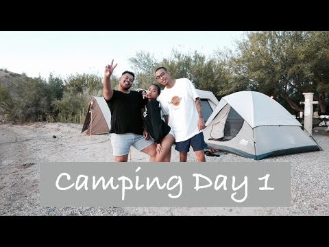Lake Havasu/ Camping Day 1
