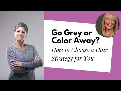 Going Grey or Color Away – How Hair Color Shades Our Thinking About Aging | Conversations