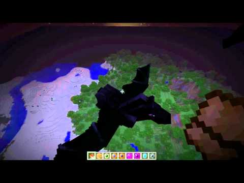 MineCraft Mo Creatures Bat Horse