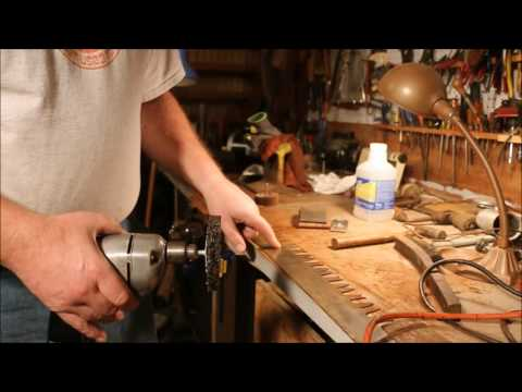 Restoring A Two Man Saw ~ Pt 10 ~ Explorations In Removing The Rust ~ By Old Sneelock's Workshop