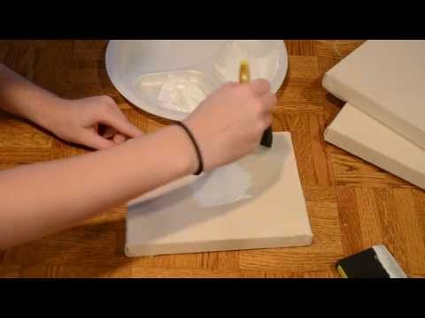 How To Make Your Own Canvas Frame! DIY Tutorial