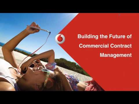 SirionLabs Webinar - How Vodafone is Building the Future of Commercial Contract Management?