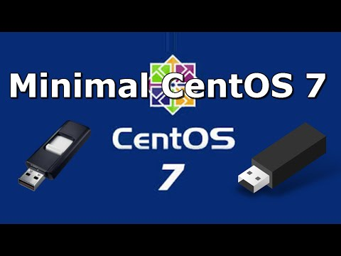 How to Create CentOS 7 Minimal Bootable USB Flash Drive