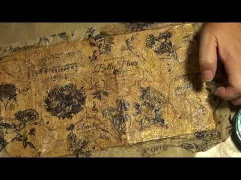 Mixed media envelope process video