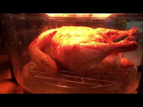 Whole Roasted Chicken in a Turbo Convection Oven