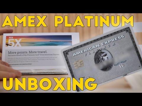 Amex Platinum UNBOXING!