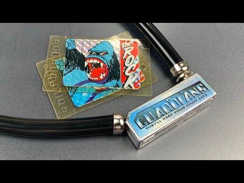 "[792] Unusual ""Guardians"" Key Card Bicycle Lock Picked"