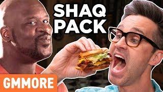 Discontinued Shaq Pack Burger Taste Test
