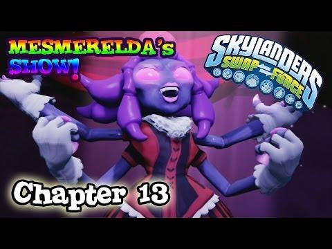 Let's Play Skylanders SWAP FORCE - Chapter 13 MESMERELDA'S SHOW (Hard Mode)