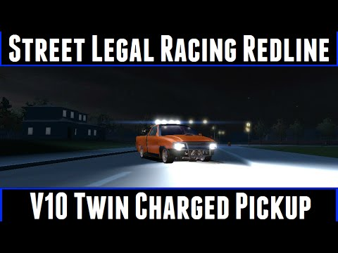 Street Legal Racing Redline V10 Twin Charged Pickup